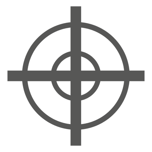 Target sign icon Transparent PNG