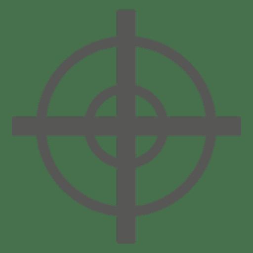 Zielsymbol Zeichen Transparent PNG