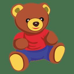 urso de brinquedo de pelúcia
