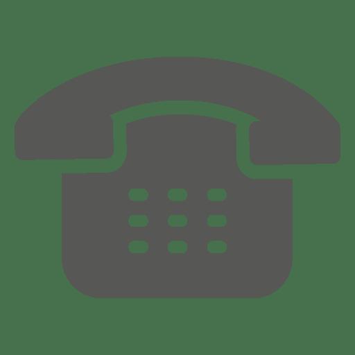 Icono de teléfono antiguo Transparent PNG