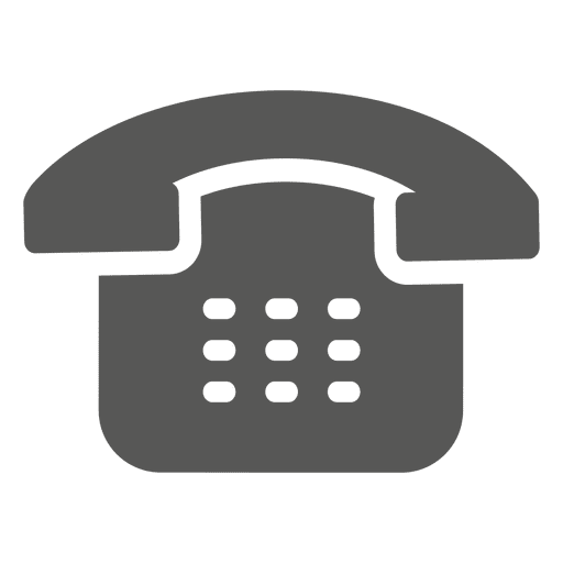 old telephone icon transparent png amp svg vector