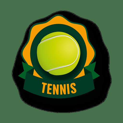 Logo de tenis Transparent PNG