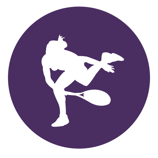 Tennis sport circle icon Transparent PNG