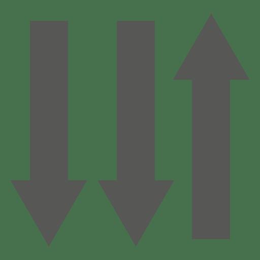 Three ways sign