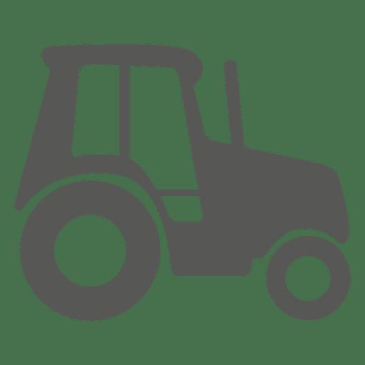 Icono del lado del tractor Transparent PNG