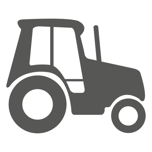 Tractor side icon Transparent PNG