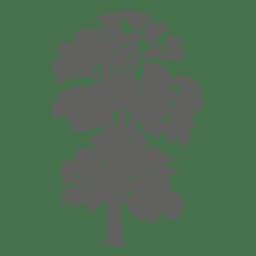 Silueta de árbol 3