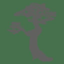 Tree silhouette 8