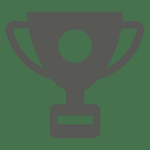 Trofeo plano icono Transparent PNG