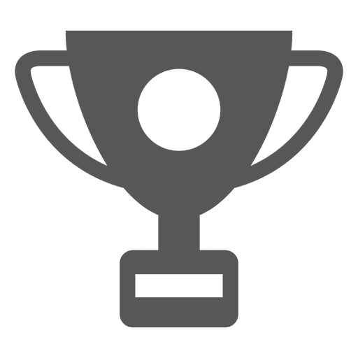 Trophy Flat Icon Transparent PNG
