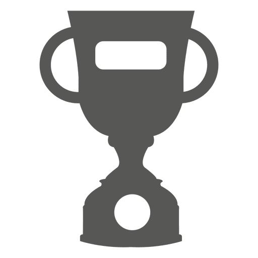 Trophy award icon Transparent PNG