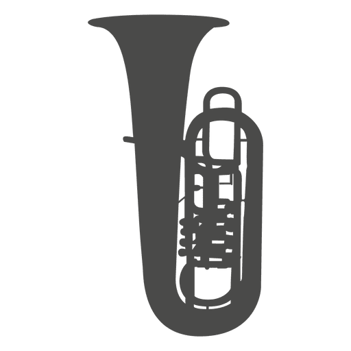 Tuba silhouette
