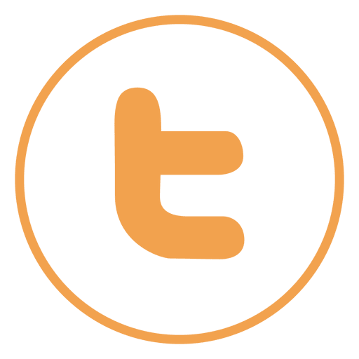 Twitter ring icon Transparent PNG