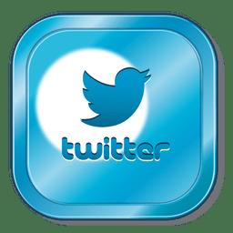 Icono cuadrado de Twitter