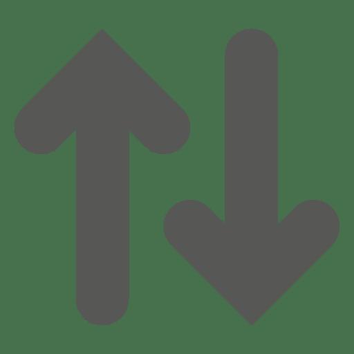 Icono de ascensor arriba abajo Transparent PNG