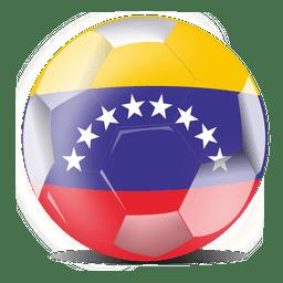 Bola de bandeira da Venezuela