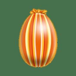 Huevo de pascua líneas verticales