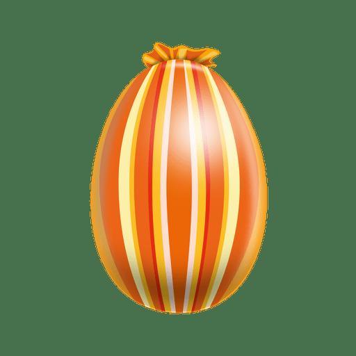Huevo de pascua de l?neas verticales