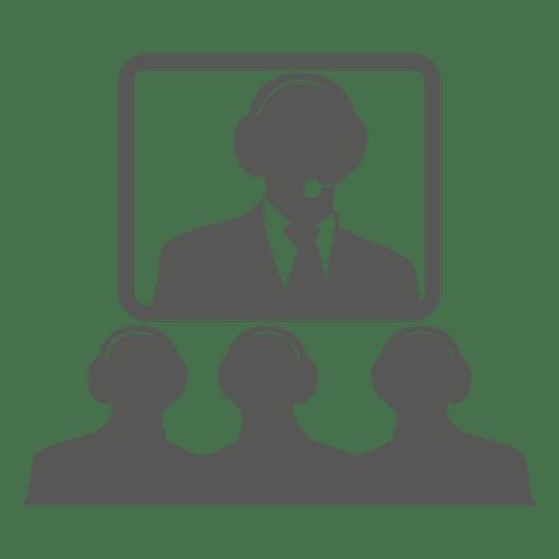 Video conversation icon Transparent PNG