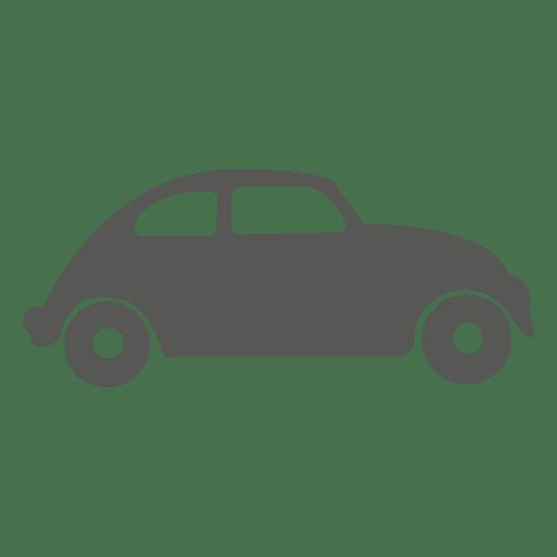 Icono de coche escarabajo vintage Transparent PNG