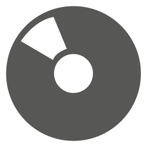 Vinyl record icon Transparent PNG