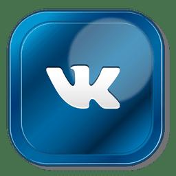 ícone quadrado Vk