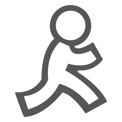 Icono humano caminando Transparent PNG