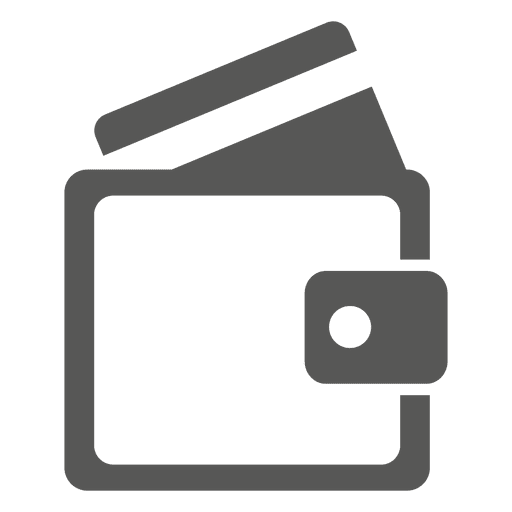 Wallet with cards icon Transparent PNG