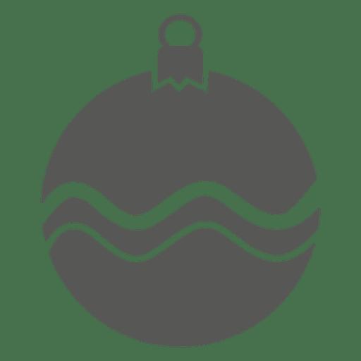 Ícone de bugiganga de faixa de onda Transparent PNG