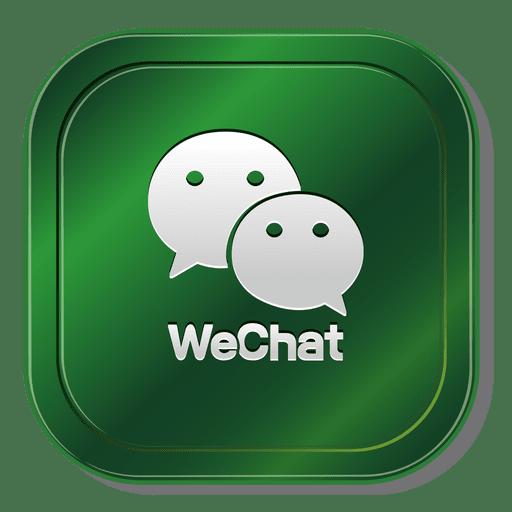 Wechat square icon - Transparent PNG & SVG vector
