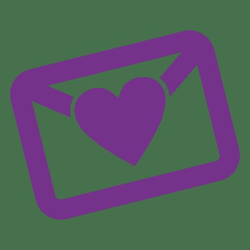 Wedding envelop icon Transparent PNG