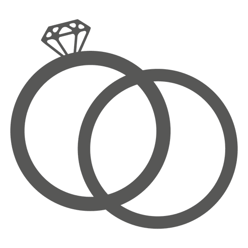 Wedding ring icon Transparent PNG