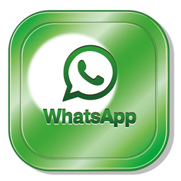 Logotipo do quadrado Whatsapp