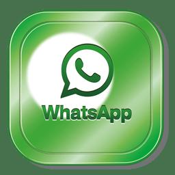 Logotipo do quadrado Whatsapp
