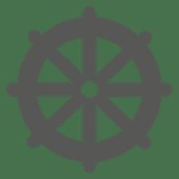 Icono de rueda