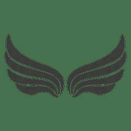 Largo asas de Phoenix decoração