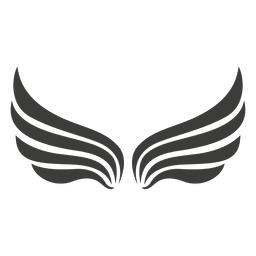 Wide phoenix wings decoration