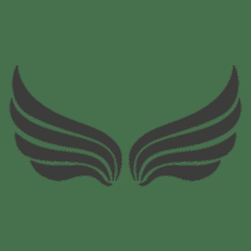 Largo asas de Phoenix decoração Transparent PNG