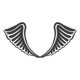 Wide phoenix wings decoration 2