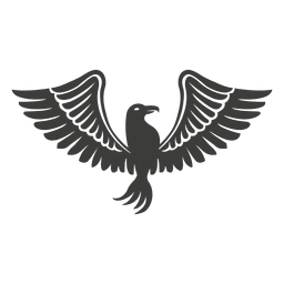 Gran pájaro de Phoenix alas