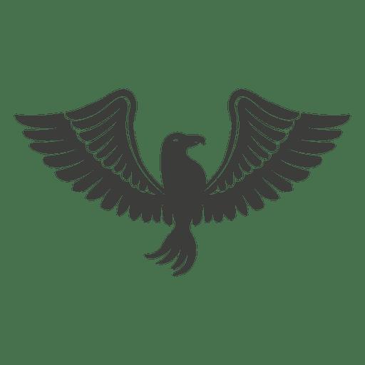 Pássaro de fênix de asas largas Transparent PNG