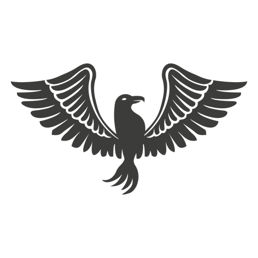 Wide winged phoenix bird Transparent PNG