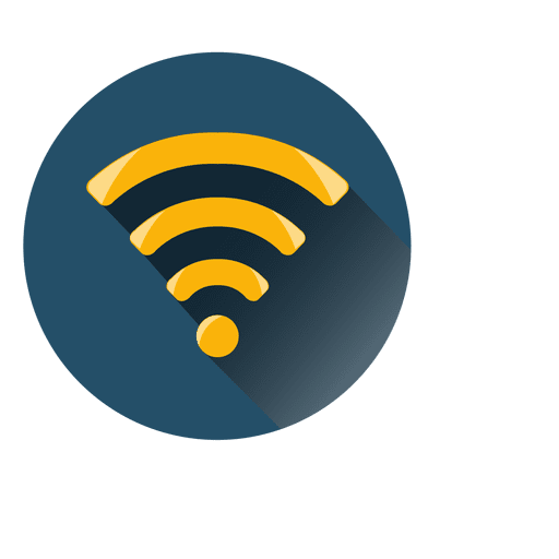 wifi circle icon transparent png svg vector