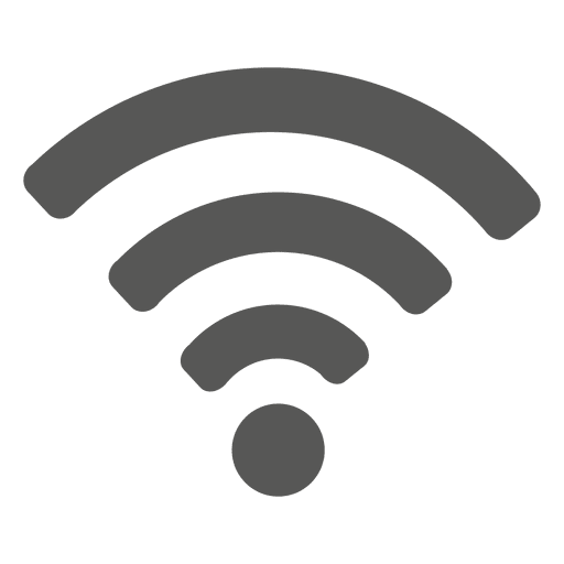 Icono de wifi plana
