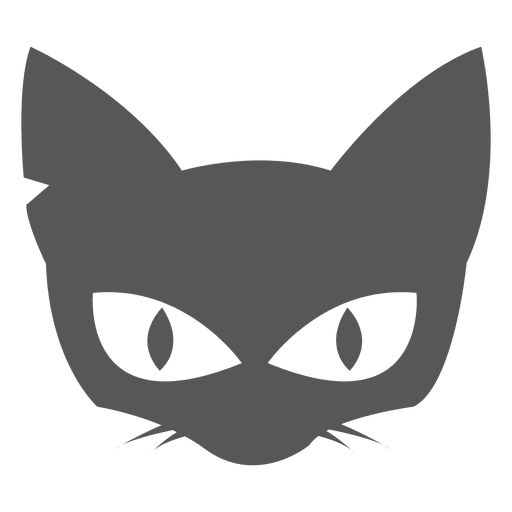Witch cat head Transparent PNG