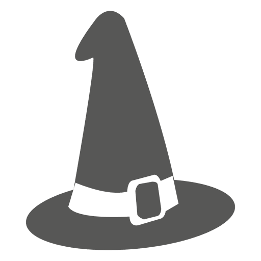 Witch hat sketch Transparent PNG