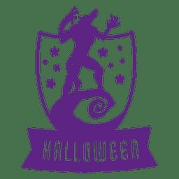 emblema lobo sheld dia das bruxas