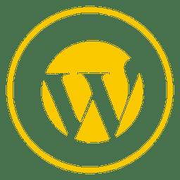 Wordpress ring icon