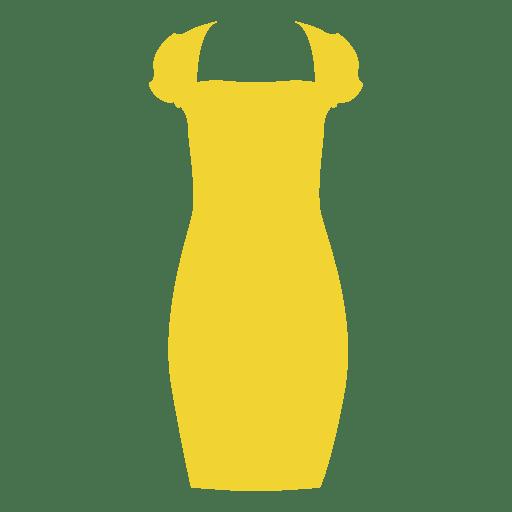 Gelbes Damenkleid Transparent PNG