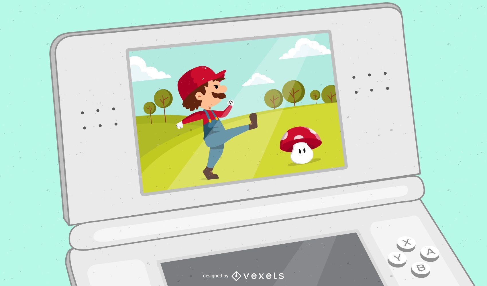 Pack de vectores de Super Mario